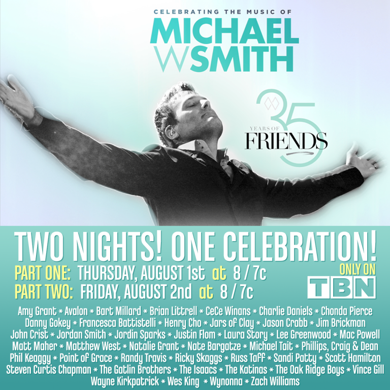 """TBN To Air """"35 Years of Friends: Celebrating The Music of"""